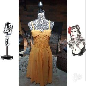 *Host Pick* Vintage Pin Up Rockabilly dress